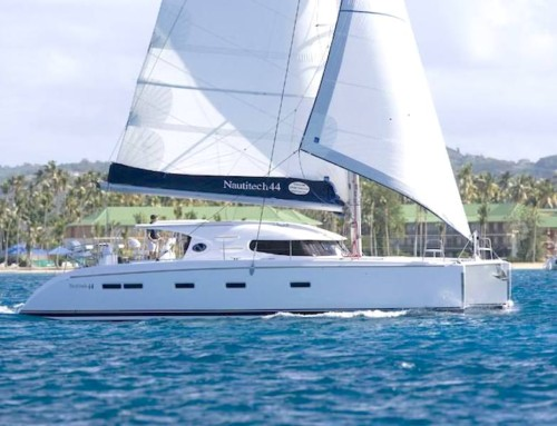 14m sailing catamaran from St.Ponsa